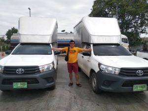 รถกระบะรับจ้างขนส่งทั่วไทย