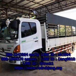 รถ 6 ล้อรับจ้างเขตจตุจักร มืออาชีพ 086-3243964 รถหกล้อขนของกรุงเทพทั่วไทย